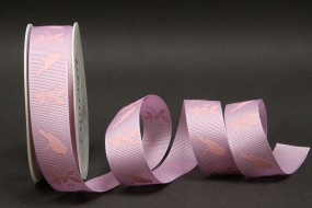 Florence Vogelmotiv rosa 25 mm 25 m