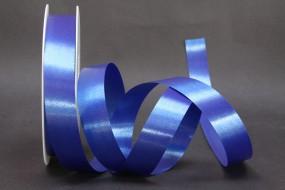 Kräuselband dunkelblau 25 mm 100 m