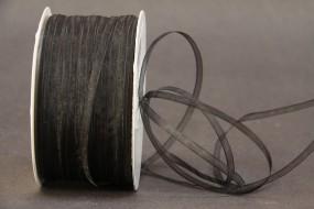 Organza schwarz 3 mm 50 m